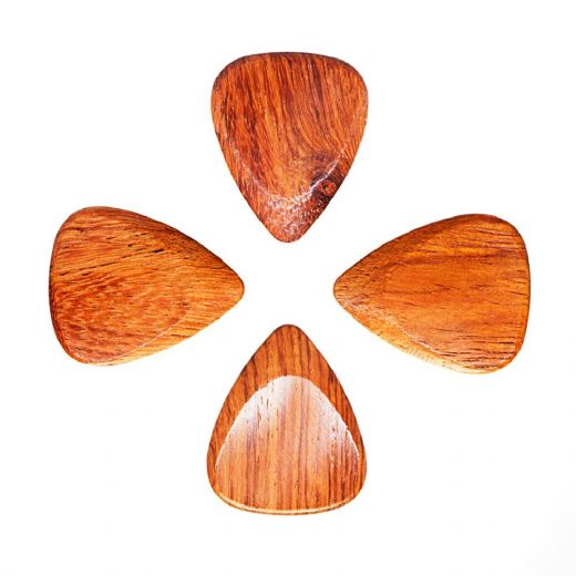 Timber Tones Bloodwood 4 Guitar Picks